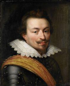 workshop of Jan Antonisz van Ravesteyn, Portrait of Jan the Younger, Count of Nassau-Siegen (Count John VIII of Nassau-Siegen), c. 1613 - c. 1620 - Rijksmuseum (SK-A-539)
