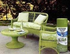 Home-Dzine - How to restore and revamp wicker furniture