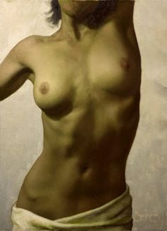 Cesor Santos | Figurative Paintings | Nudes - Fine Art