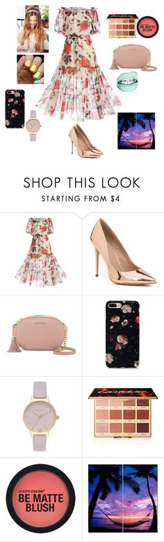 """""""ROMANTIC OCEAN"""" by reka15 on Polyvore featuring WithChic, ALDO, MICHAEL Michael Kors, Monday, Olivia Burton and tarte"""