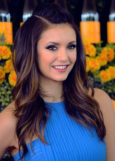 Nina Dobrev attends the Sixth-Annual Veuve Clicquot Polo Classic at Will Rogers State Historic Park on October 17, 2015 in Pacific Palisades, California.