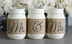 Rustic Bridal Shower Table Decor, Rustic Engagement Gift - Love Live & Create-Furniture, Home & Wedding Decor