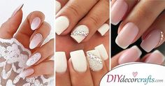In search for the perfect wedding nails for bride? Take a look through our collection of 30 gorgeous wedding nail ideas and find some inspiration! Wedding Nails For Bride, Wedding Nails Design, Bride Nails, Chevron Nail Art, Floral Nail Art, Heavenly Nails, Decoration, Decor Diy, Multicolored Nails