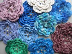 HaakZaken: Patroon rozet / bloem haken