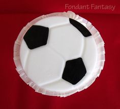 Soccer Ball Cupcake Topper by FondantFantasy on Etsy