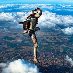Skydiving need not be scary! #Vortex almost Halloween again #skydiving…