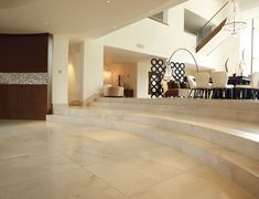 The spanish crema marfil marble is the first quality marble price, from the quarry to the tiles or slabs polished, from Alicante in Spain Stone Tile Flooring, Travertine Tile, Marble Tiles, Wooden Flooring, House Furniture Design, House Design, Italian Marble Flooring, Hall Tiles, Karndean Flooring