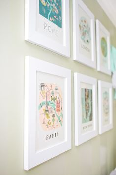 Rifle Paper Co City PRints l Chic Nursery - Style Me Pretty Living
