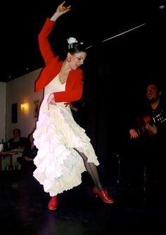 Marta Balparda en Murcia Flamenca