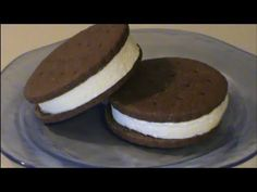 Homemade Ice Cream Sandwiches - YouTube