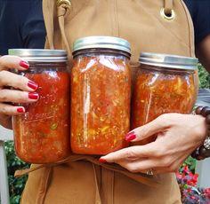 Canned Spaghetti Sauce, Tomato Pasta Sauce, Tomato Relish, Tomato Sauce Recipe, Canned Tomato Sauce, Zucchini Relish Recipes, Zucchini Salsa, Zucchini Tomato, Zuchinni Recipes