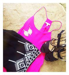 Blue door boutique top + shorts @shopbluedoor