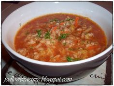 Jodłowe Zacisze: Zupa gołąbkowa