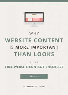 Why Website Content is More Important than Looks