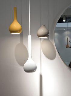 Coleção de Luminárias Pendentes em Forma de Gota | Decoração, Design e Arquitetura