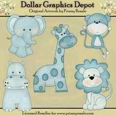 BABY BOY Clipart Vector Clip Art Illustrations, Instant Download ...