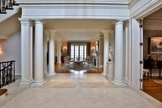 Foyer - Country homes for sale and luxury real estate including horse farms and property in the Caledon and King City areas near Toronto House, Home, Entry Foyer, Luxury, Luxury Real Estate, Real Estate, Luxury Homes, Luxury Garden, Country Homes For Sale