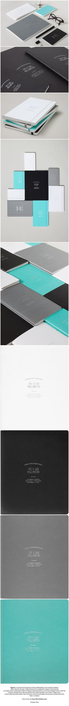 Ogami Professional Collection Notebook by Officemilano