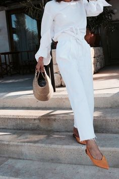 summer whites | @andwhatelse