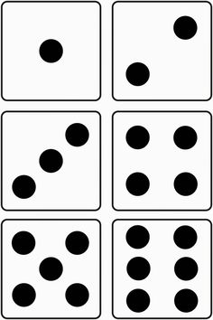 Big Dice Template Large Printable Dice Template Activity Days