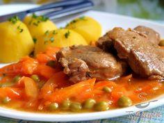 Sárgarépás-borsós mártás húsokhoz No Salt Recipes, Meat Recipes, Cooking Recipes, Czech Recipes, Ethnic Recipes, Hungarian Recipes, Food 52, What To Cook, Pot Roast