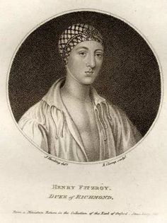 Henry Fitzroy (son of Henry the 8th and Bessie Blount)