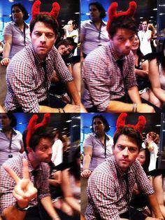 Meanwhile, Misha