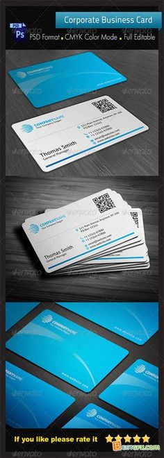 GraphicRiver - Corporate Business Card 4434985