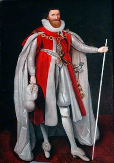 1615. Lodovick Stewart, KG, Duke of Lennox, Duke and Earl of Richmond, Earl of Newcastle upon Tyne, and Baron Settrington, Lord Great Chamberlain and Admiral of Scotland, and Lord Steward of the Household of King James the First of England. by Paulus van Somer I (attributed to)