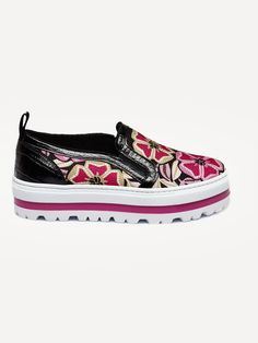 MSGM , Floral Slip On Wedge Sneaker  #msgm #sneaker #floral #multicoloured #shopigo #shopigono17 #ss16 #conceptstore #onlinestore #onlineshopping #buyonline #onlineconceptstore #womenswear #womensfashion #womensstyle #streetstyle #streetfashion #streetwear #readytowear #fashion #footwear