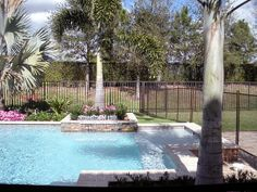 Trees provide excellent shade in #swimmingpools and is an alternative to an enclosed outdoor patio.