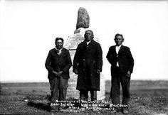 L-R: Bear Soldier, Little Soldier, Black Bear - Hunkpapa - 1931