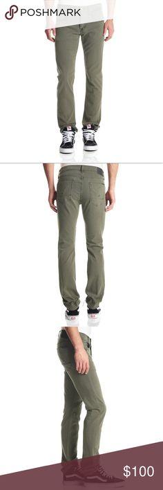NWT Hudson Byron Straight Leg Olive Green Jeans 30 NWT Hudson Byron Straight Leg Olive Green Jeans 30 Hudson Jeans Jeans Straight
