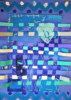 blue period weaving project
