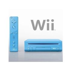 Nintendo Wii Blue Console http://gamegearbuzz.com/nintendo-wii-blue-console/