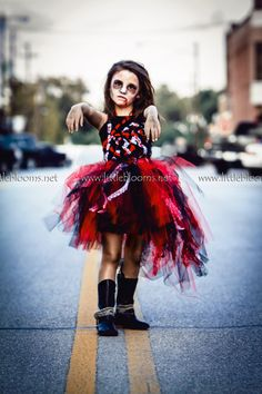 The Zombie Costume is a magnificently scary tutu costume worthy of producing…