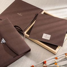 An all-time classic album in premium suede leather finish enclosed in an elegant wooden box. For all those who like to preserve their memories with a hint of classic elegance