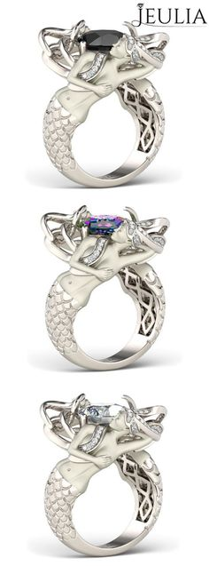 1000 ideas about mermaid ring on diamonds