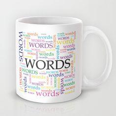 'Words' Word Cloud Mug by Empire+Ruhl $15.00