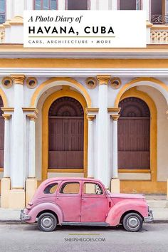 Take a walking tour of Havana's top sights in this Cuban photo diary. The best of travel in Cuba!