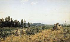 Ivan Shishkin, Polesye Landscape (1884)