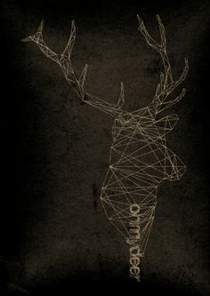 Oh my deer by Robert Farkas Deer Art, Funny Illustration, Abstract Nature, Canvas Prints, Art Prints, Graphic Design Art, Double Exposure, Arts And Crafts, Diy