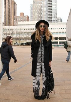 Street Style New York Fashion Week: Day 1 | StyleCaster