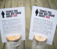 Facts about Him/her  Logs