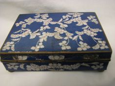 Antique Chinese Cloisonne Box