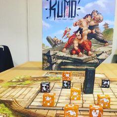 Who wants to be a Kumotori for one round ? ️ #KumoHogosha #boardgame #strategic #sumo #playing #boardgaming #manga #beautiful #wednesday
