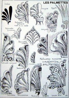 Эволюция пальметты подробнее http://ornament.rode.land/istoriya-ornamenta/34-evolyutsiya-palmetty.html