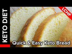 Keto Diet Recipe - Quick & Easy Keto Bread   Keto Babe Rocks - YouTube