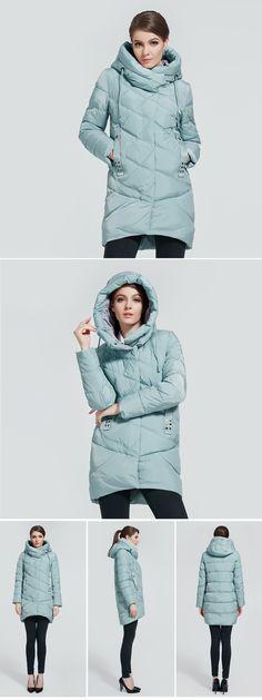 Athena Special 2017 Зимнее открытое теплое пальто пуховик зимний женский с Капюшоном Теплая Женская Куртка Средней Длинны Женская Парка Высокого Качества Новая Зимняя Коллекция купить на AliExpress