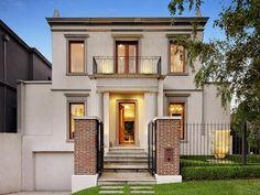 Photo of a brick house exterior from real Australian home - House Facade photo 312137